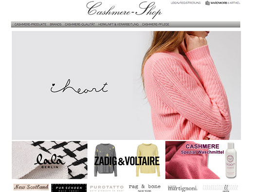 Cashmere-Shop